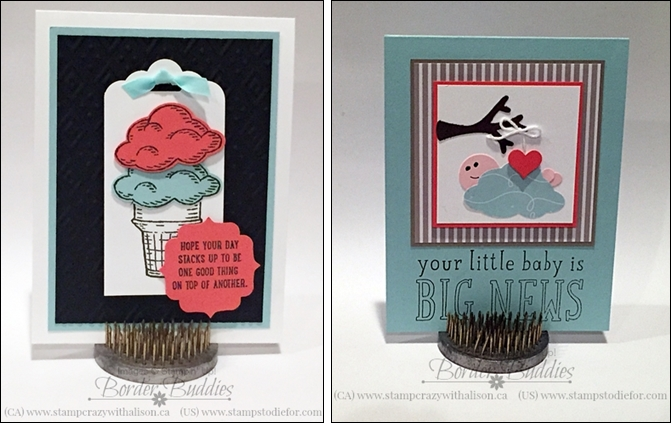 Sprinkles of Life Stamp Set Ice Cream Cone 3-horz