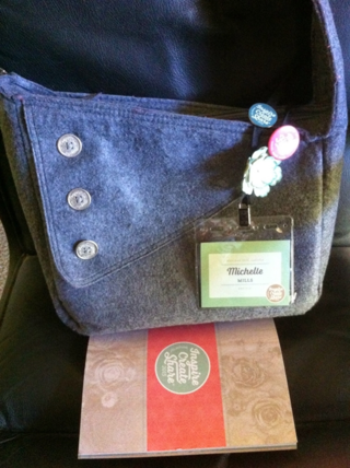 South pacific convention bag