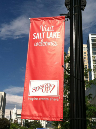 Welcome stamping up to salt lake city