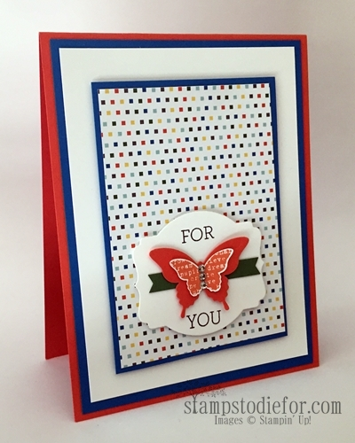 Elegant Butterfly Punch #stampinup www.stampstodiefor.com
