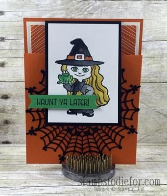 Haunt Ya Later Stamp Set #stampinup # funfoldcard www.stampstodiefor.com