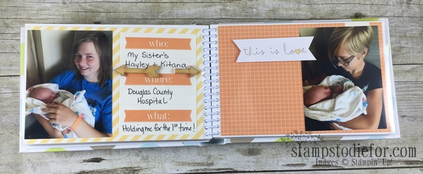 Project Life by Stampin Up Sisters