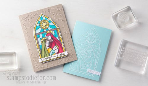 Gentle Peace Photopolymer Stamp Set #stampinup