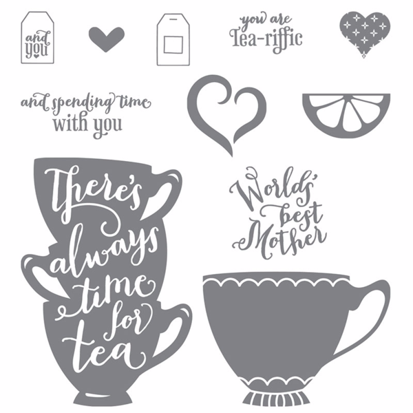 A nice cuppa stamp set by stampin' up!