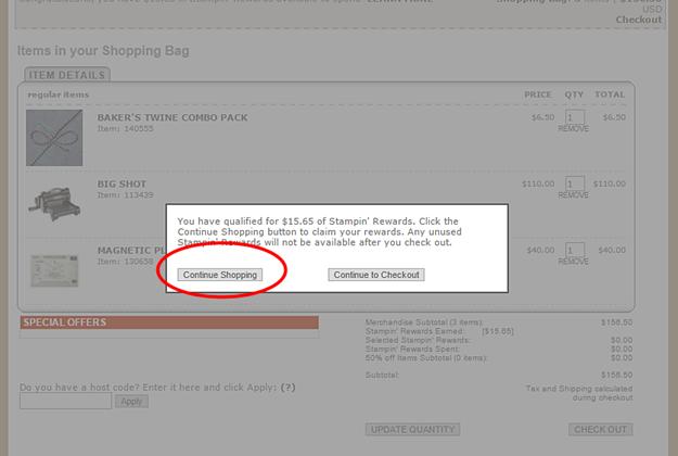 Order Online Stampin up 8