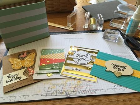 Stampin Up Tin Card Kit 4