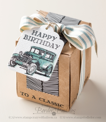 Guy Greetings stamp set, Birthday Gift Box #stampinup www.stampstodiefor.com