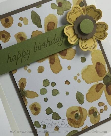21-Birthday Blooms Stamp Set #stampinup www.stampstodiefor.com 1