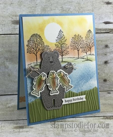 Bear Hugs Stamp Set & Framelits #stampinup www.stampstodiefor.com