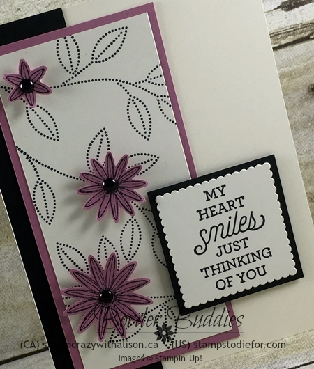Grateful Bunch Stamp Set & Blossom Bunch Punch, Layering Square Framelits, Suite Sayings Stamp Set #stampinup www.stampstodiefor.com 2