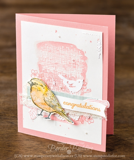 Best Birds Stamp Set created by Stampin' Up! Concept Artists #stampinup www.stampstodiefor.com