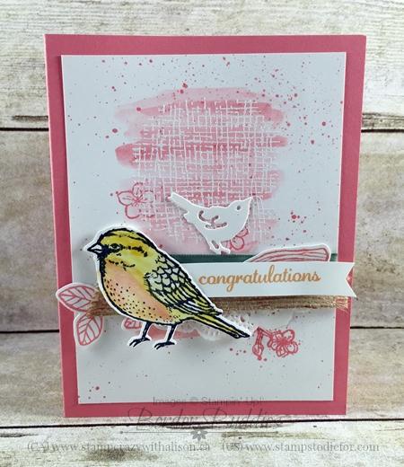 Best Birds stamp set & Birds & Blooms Thinlits  bundle #stampinup www.stampstodiefor.com