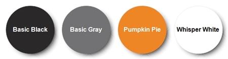 Stampin' Up! Color Pallette for Halloween Night Designer Paper