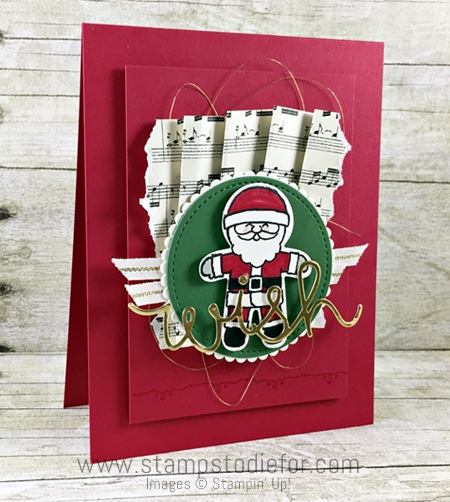 Just in CASE series, Cookie Cutter Christmas Stamp Set & Punch by Stampin' Up! www.stampstodiefor.com