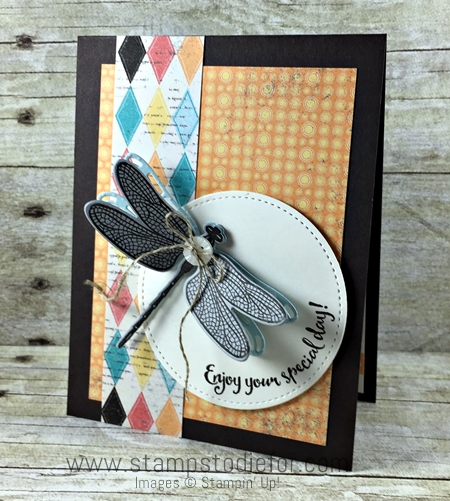 Dragonfly Dreams Stamp Set by Stampin' Up! www.stampstodiefor.com 3
