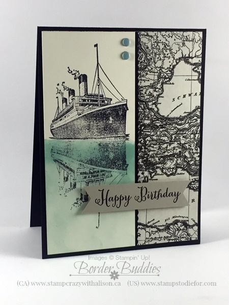6 Traveler stamp set by Stampin' Up!