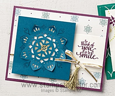 Eastern Beauty Stamp Set & Eastern Medallions Thinlits Dies by Stampin Up www.stampstodiefor.com 12