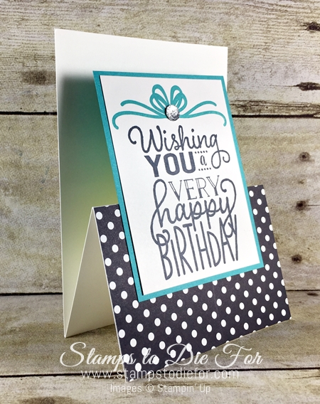 Sunday Sketches SS034 Big on Birthdays stamp set by Stampin' Up! www.stampstodiefor.com 2