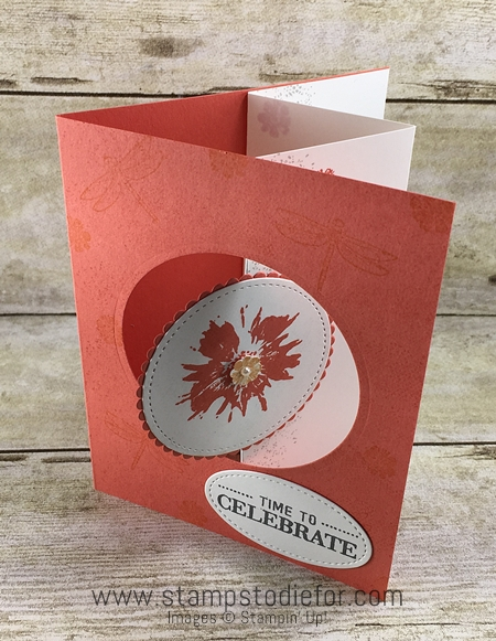 Touches of Texture stamp set by Stampin' Up! fun fold card www.stampstodiefor.com 3
