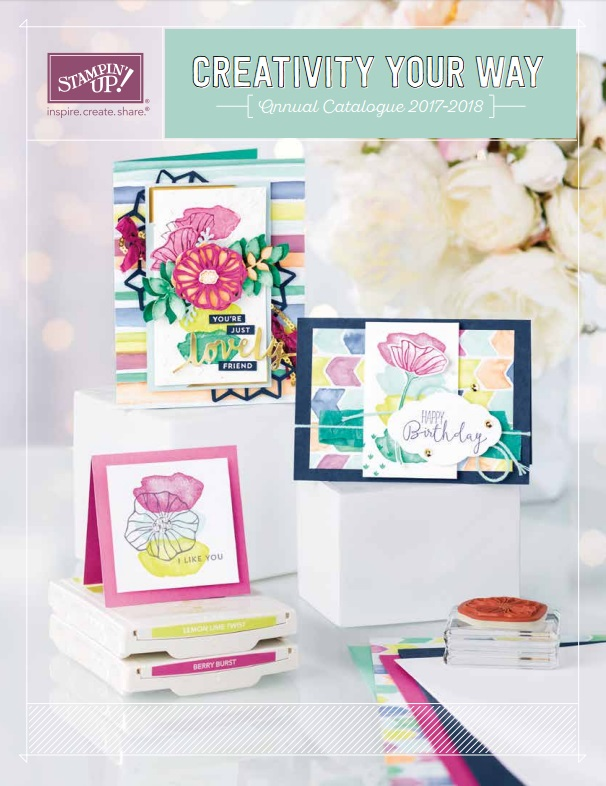2017-2018 Stampin' Up! Catalog Get your Copy www.stampstodiefor.com