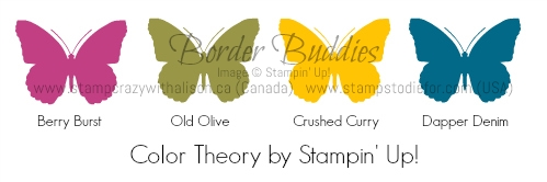 Border Buddies Color Theory by Stampin' Up!