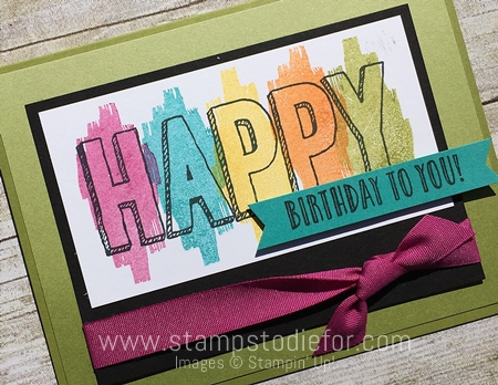 Happy Celebrations Stamp Set  by Stampin' Up! www.stampstodiefor.com 3