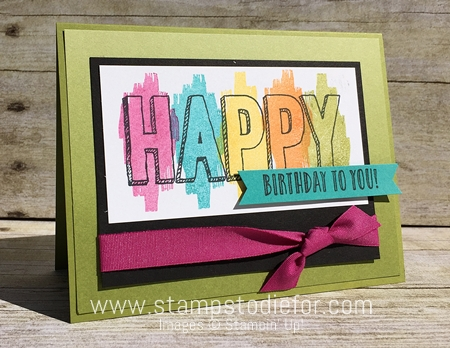 Happy Celebrations Stamp Set  by Stampin' Up! www.stampstodiefor.com 6