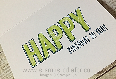Happy Celebrations Stamp Set  by Stampin' Up! www.stampstodiefor.com a6