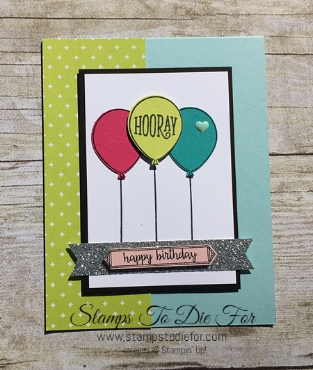Happy Birthday Gorgeous stamp set by Stampin' Up! www.stampstodiefor.com 2
