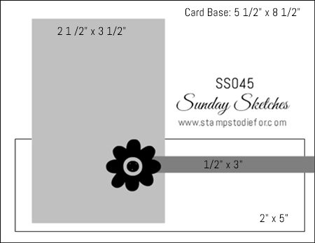 Sunday Sketches SS045 www.stampstodiefor.com