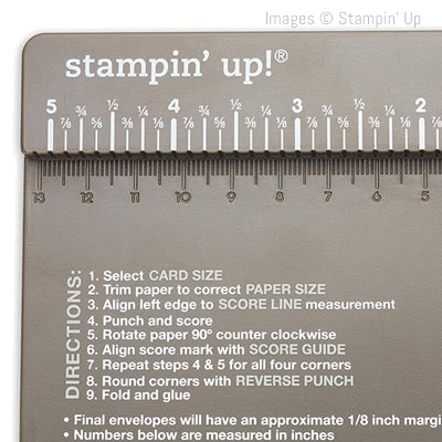Envelope Punch Board to create great customized envelopes - Stampin' Up! www.stampstodiefor.com 13