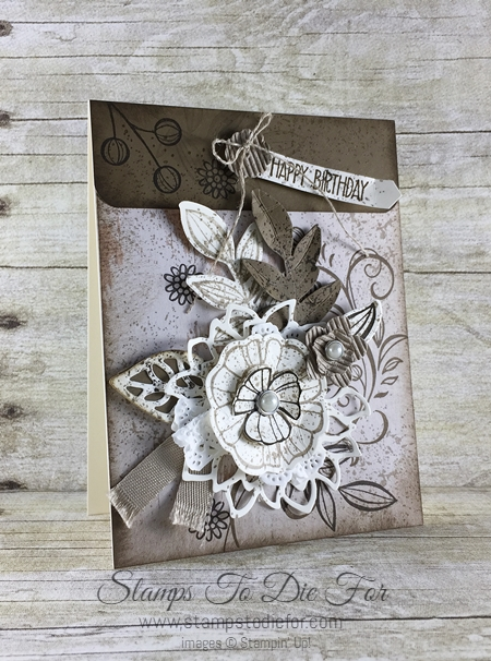 Just in CASE Falling Flowers by Stampin' Up! - Visit my blog for some fun card making ideas. www.stampstodiefor.com