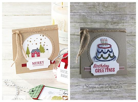 Just in CASE Birthday Deliver stamp set & Birthday Friends Framelits by Stampin' Up! www.stampstodiefor.com 2