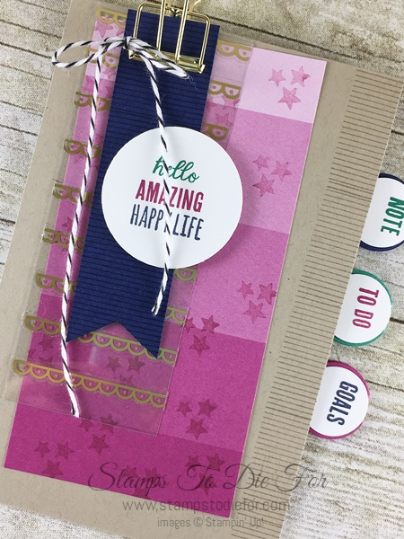 Just in CASE Tabs for Everything stamp set by Stampin' Up! www.stampstodiefor.com 2