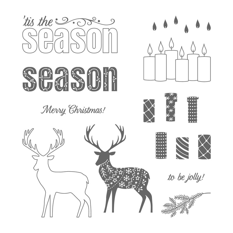 Merry Patterns Exclusive stamp set