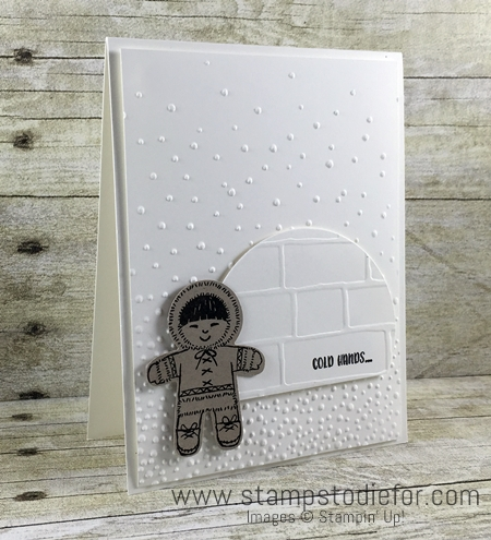 Cookie Cutter Christmas Stamp Set Eskimo and Iglo