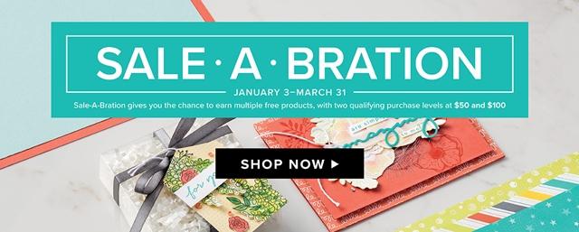 Sale-a-brations Shop Now Image