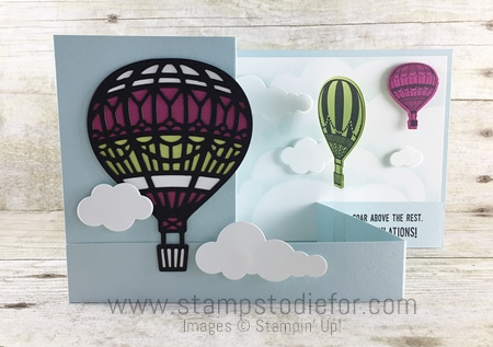 Top Ten Fun Fold Double Z  Lift Me Up Stamp Set by Stampin' Up! www.stampstodiefor.com