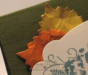 Leaves autumn accents bigz die