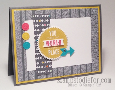 Starburst sayings stampin up