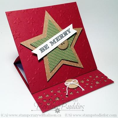 Easle Card Star Framelit 2