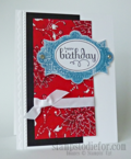 Bandanna Technique How To, Stampin up