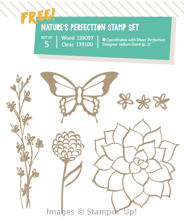 Natures Perfections Stamp Set
