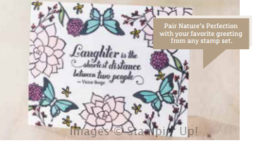 Natures Perfection Stamp Set 2