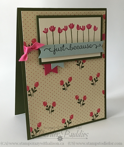 All Abloom DSP Painted Petals stamp set