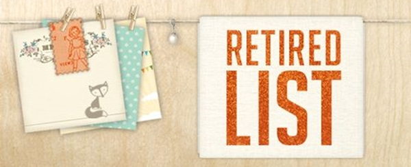 Retired stampin up list