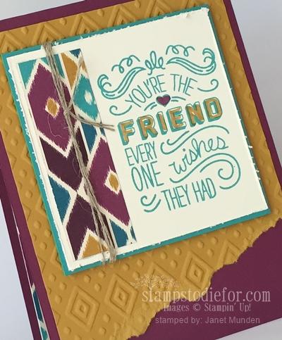 Friendly Wishes stamp set 2