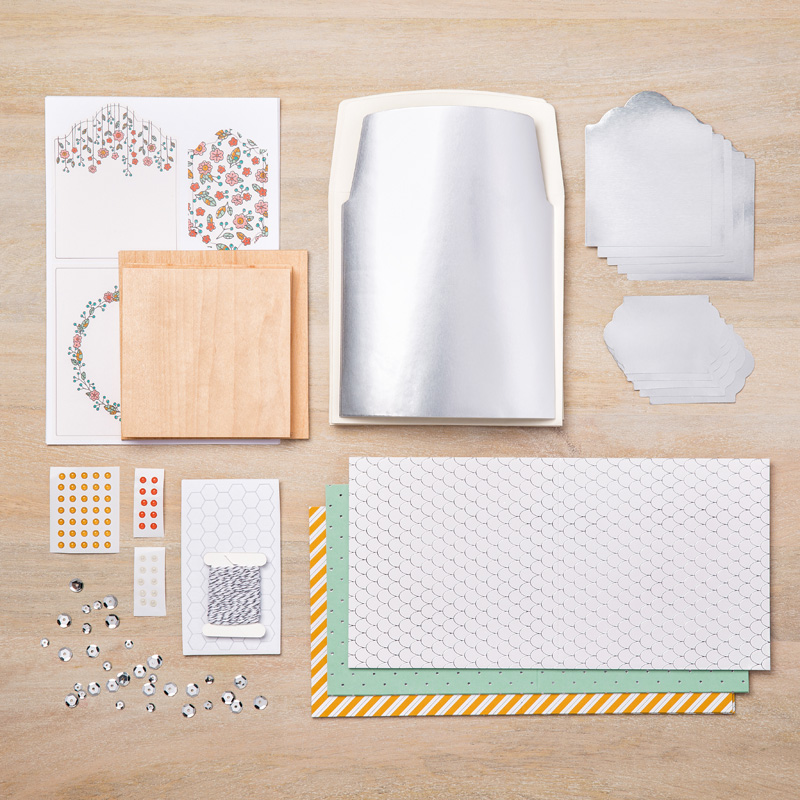 Quick and easy cottage greetings card kit stamps to die for cottage greeting card kit contents m4hsunfo