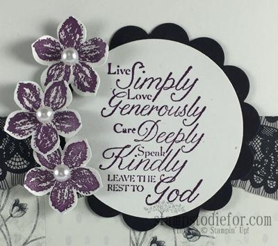 Trust God stamp set & Timeless Elegance Paper #trustgod #stampinup www.stampstodiefor.com