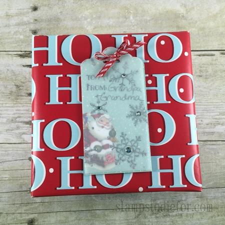 Home for Christmas Paper Christmas Tags